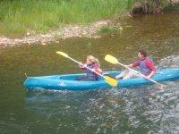 Rowing couple