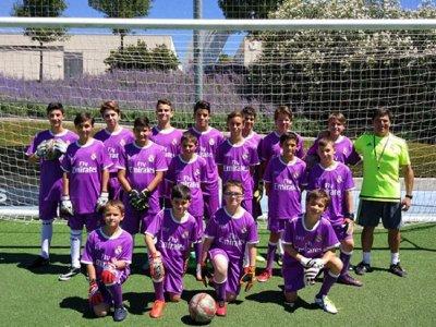 Campus interno del Real Madrid Ávila Soccer Foundation