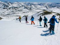 Snowshoes in the Arbas Valley