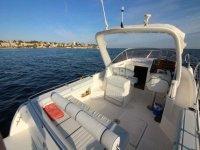 Cubierta del barco en Alicante