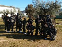 Jornada de paintball familiar
