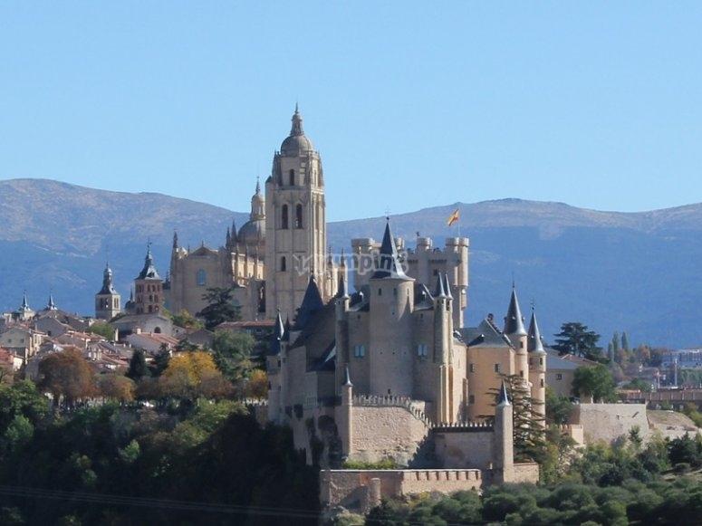 Panoramica de Segovia