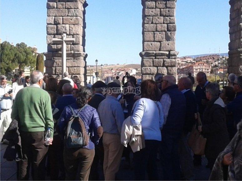 Visita guiada en Segovia desde Madrid
