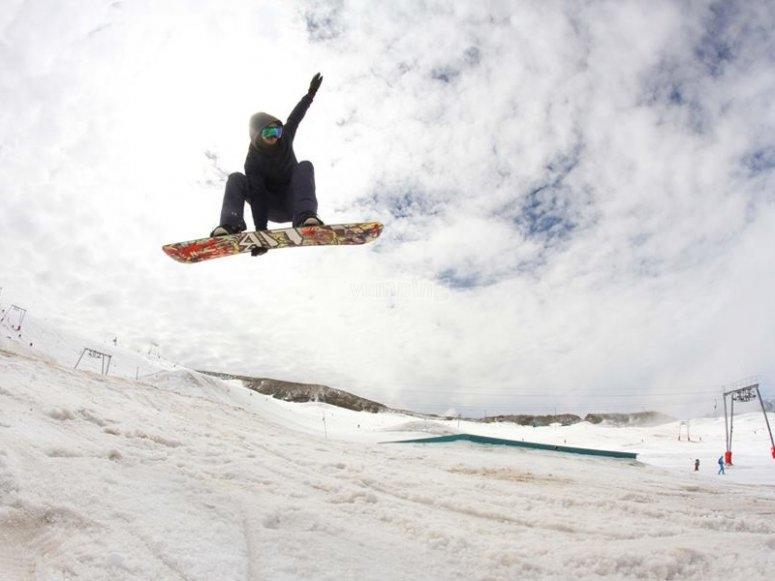 Acrobacia de snowboard