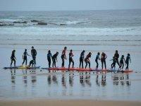 Clases de paddle surf y surf