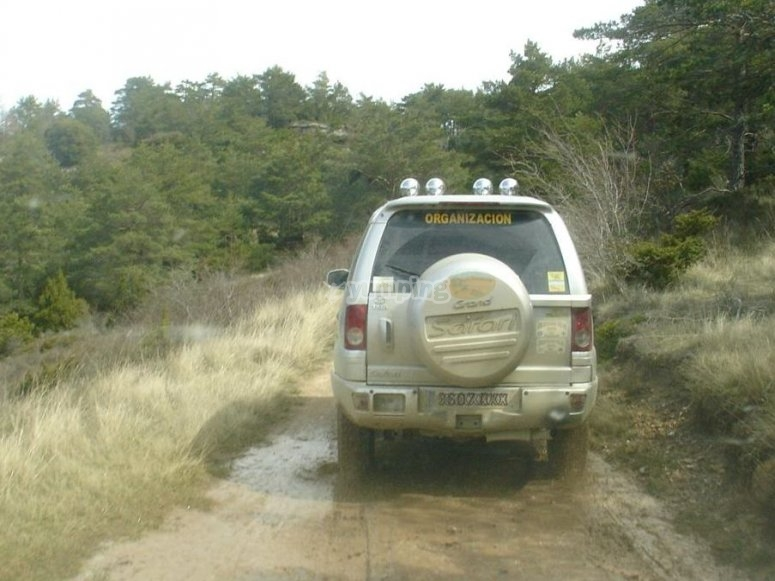A great off-road vehicle tour