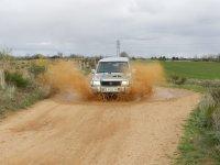 Rutas en potentes vehiculos