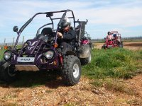 Excursión en buggy biplaza en Malpica del Tajo 2h