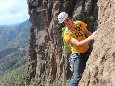 Aventura en Canarias Escalada