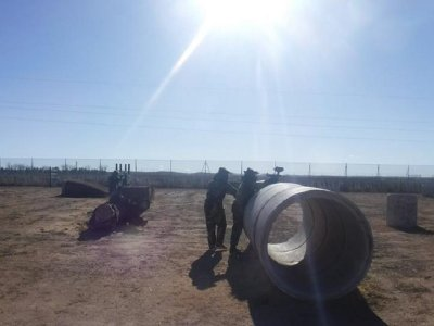 Paintball game + 200 balls at Alcalá, kids