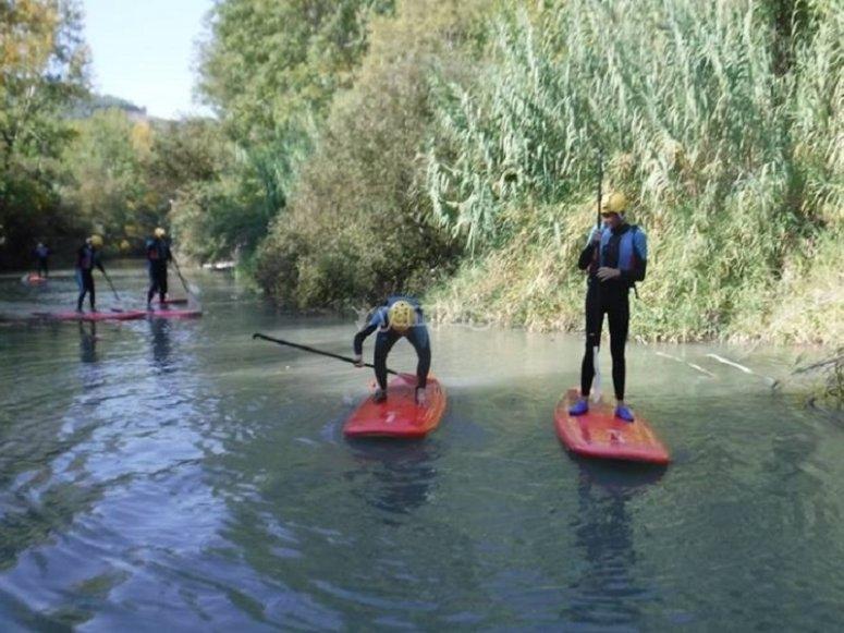 划桨冲浪的稳定性