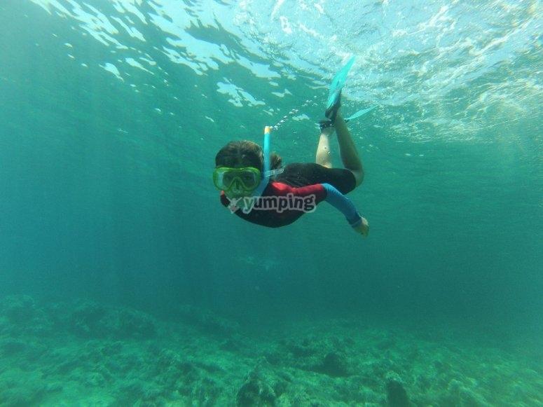 潜水呼吸管设备