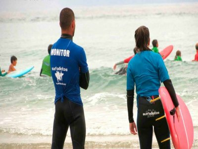 Surf course for beginners San Vicente Barquera, 5d
