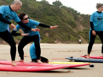 Weekend surf course for beginners, Cantabria