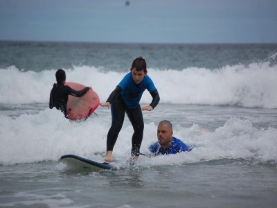 Surf course for beginners San Vicente Barquera, 2h
