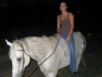 Paseo a caballo Vilamarxant con luna llena y clase