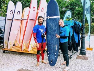 坎塔布里亚冲浪课程5天