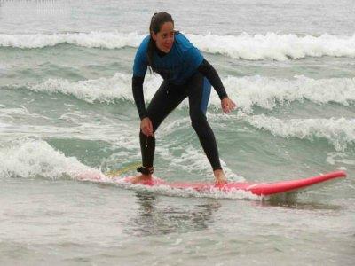 Curso perfeccionamiento surf en Cantabria 10 días