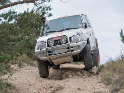 4x4 route in Corbera de Ebro 8 hours