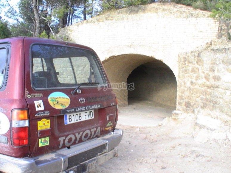 Bunker linea Algars
