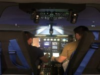 直升机飞行模拟器在萨瓦德尔