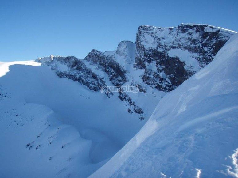 Norte del pico Veleta