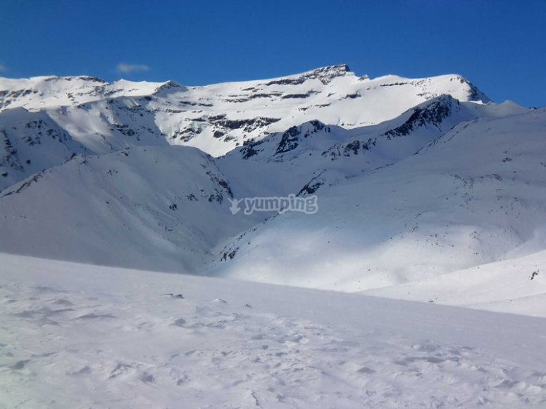 Veleta desde alto del Chorillo