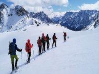 Ascensión invernal al Veleta y fotos 6 horas