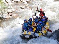Rafting con guia profesional