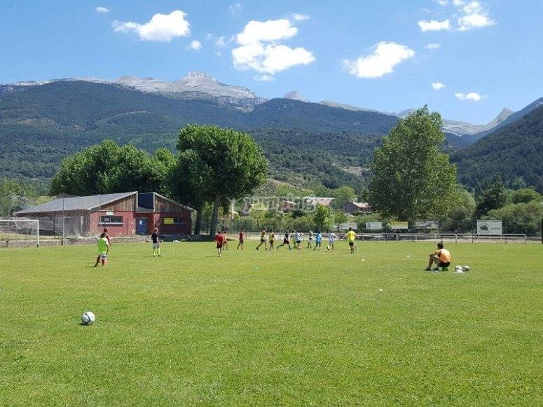 Sesiones de futbol