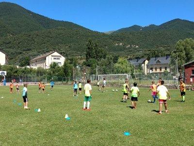 Football camp at Ibón de Plan Villanúa, 9 days