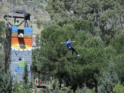 Multiadventure park schools half a day, Hornachos