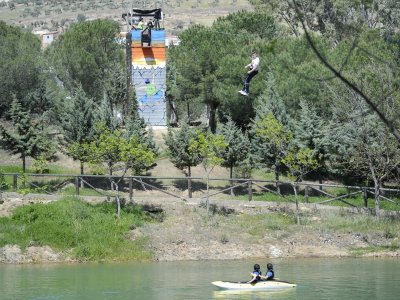 Multi-adventure park for schools, 1d, Hornachos