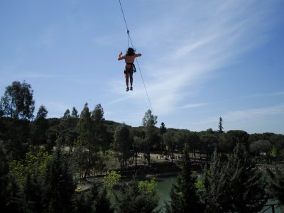 Zip-lines & guided tour for schools, Hornachos