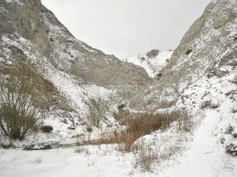 Senderismo en invierno