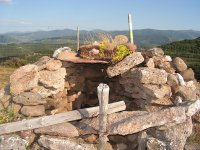 Ruta de senderismo en comarca de Belorado