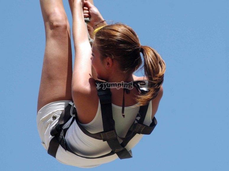 Salto de bungee jumping