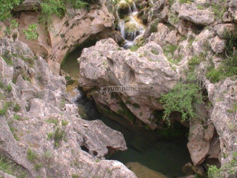 Matarraña River formations