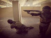 完整战斗中的气枪士兵