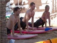 primeras clases sobre la arena