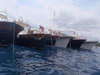 embarcaciones en alineacion