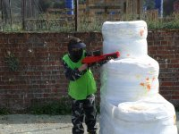 Paintball for children at Colmenar 100 paint balls