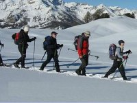Raquetas de nieve rutas