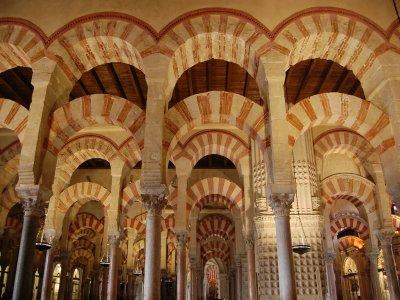 导游参观科尔多瓦清真寺 - 大教堂