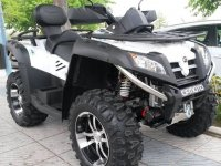 Quad parked in Puerto Banus