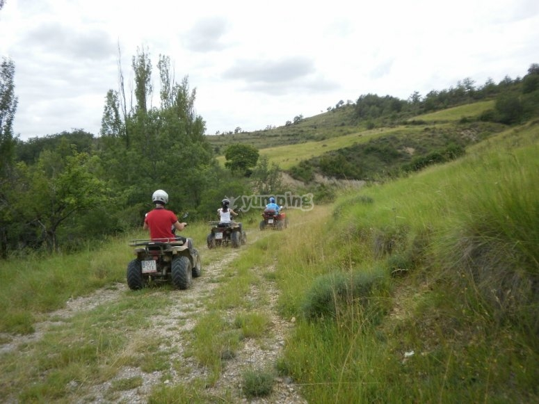 Tour in Quads through the Pyrenees