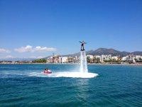 Volare sull'acqua