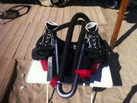 Boots for flyboarding