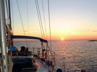 Navegando en barco