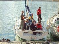 mastil由游艇帆船运动